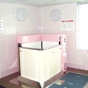 特殊浴室 立位、座位のできない方でも、安心して入浴できます